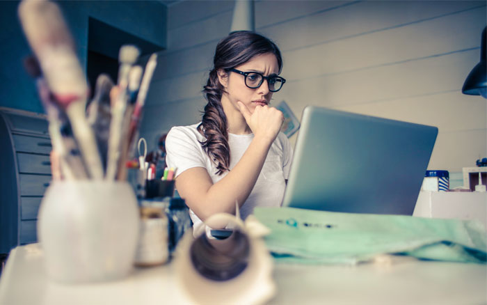 Photo of a woman thinking - EQ Asia